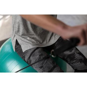 Dameslegging voor gym en pilates, slim fit - 1229868
