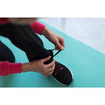 Pantalon 120 Gym & Pilates femme gris chiné - 1229877