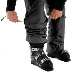 Skibroek heren zwart voor pisteskiën 180