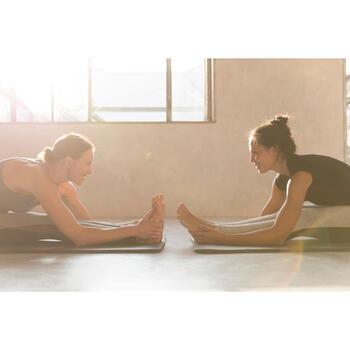 Legging Gym & Pilates femme gris moyen gris foncé - 1229909