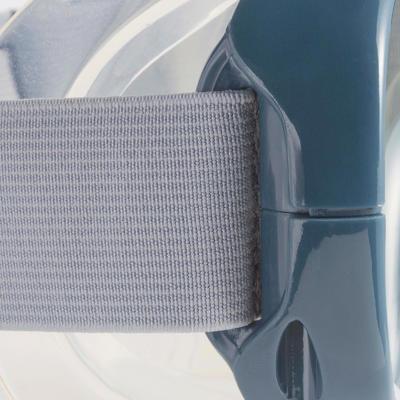 Kit masque tuba de Snorkeling SNK 500 gris pour adultes et enfants