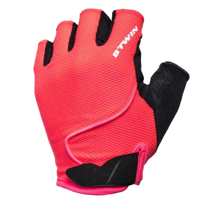Fietshandschoenen racefiets 900 roze