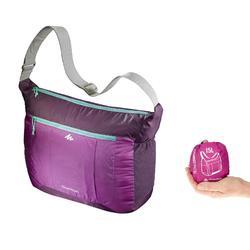Bolsa bandolera Senderismo ultra compacta violeta
