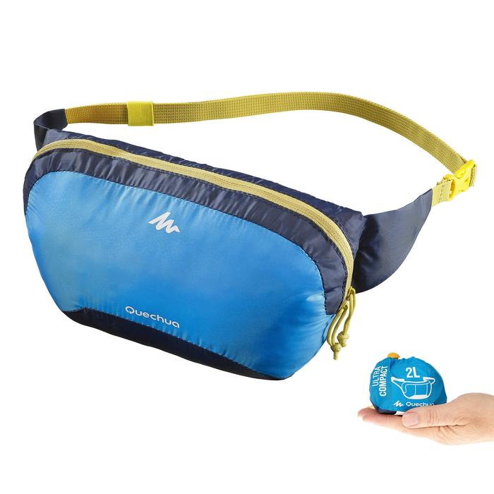 Gürteltasche ultrakompakt blau
