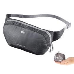 Gürteltasche Travel ultrakompakt grau