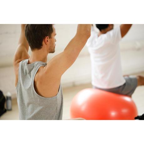 Débardeur 500 regular Pilates Gym douce homme bleu marine. Previous. Next a2d4cc774713