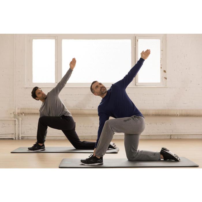 920 Regular-Fit Gym Stretching Bottoms - Black