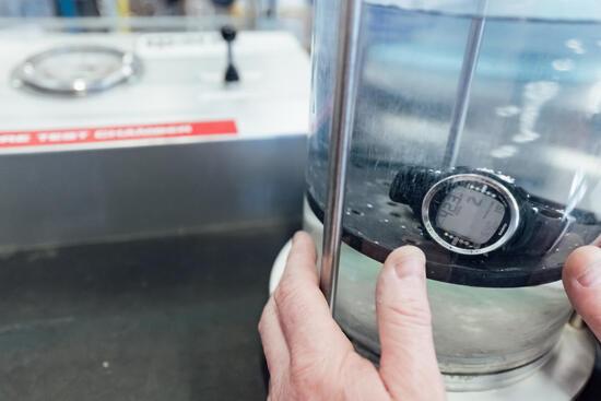 Onderhoud van duikcomputer of duikhorloge