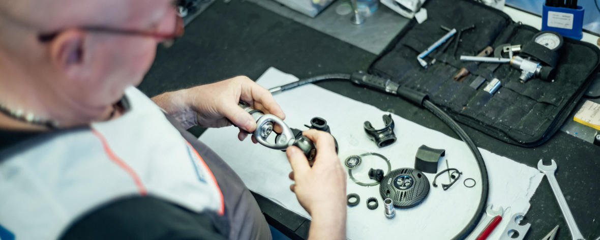 Le service atelier Decathlon sur le matériel de plongée