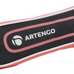 BL160 rackethoes - zwart / roze