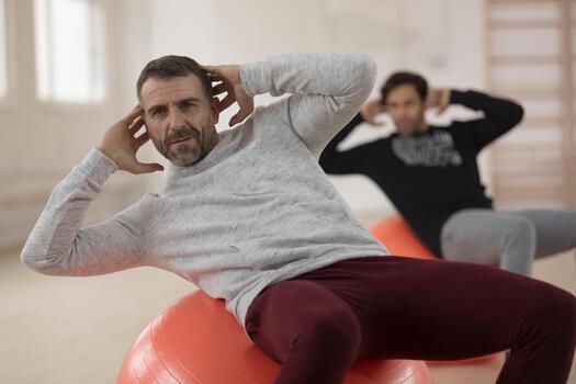 Pantalon skinny Gym & Pilates homme - 1230408