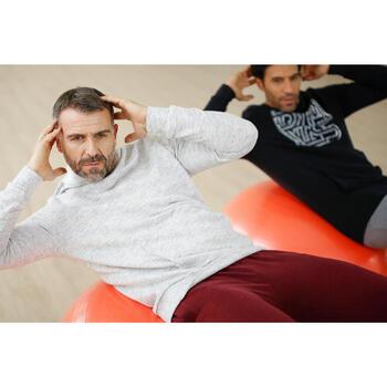 Sweat capuche Gym & Pilates homme foncé - 1230420