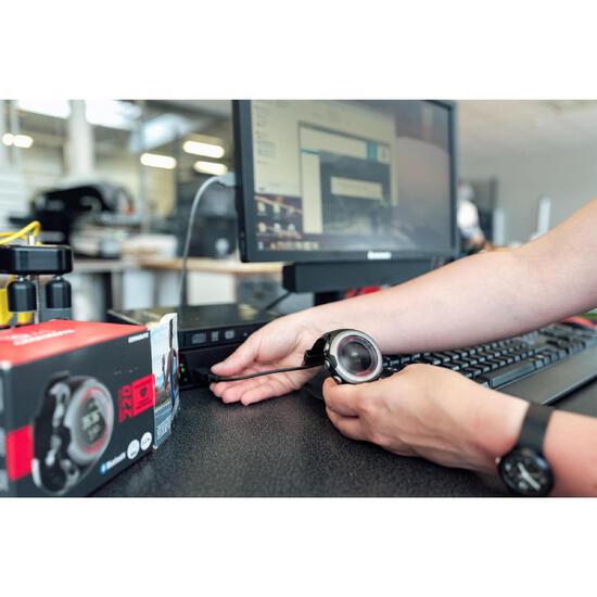Fehlerdiagnose und Korrektur für angeschlossene Uhren