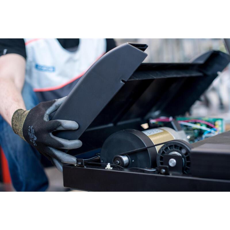 Montaggio-Smontaggio carter tapis roulant