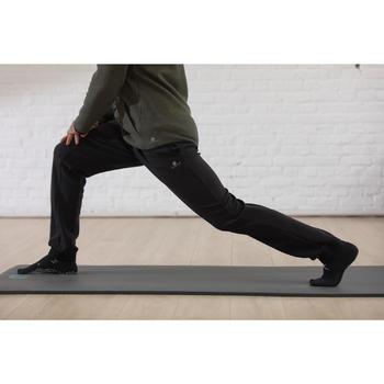 Pantalon spacer slim Gym & Pilates homme noir