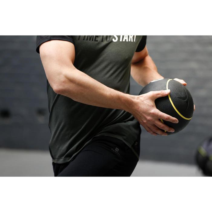 Verzwaarde medicine ball voor pilates/figuurtraining 1 kg