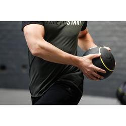 Verzwaarde medicine ball voor pilates/figuurtraining 3 kg
