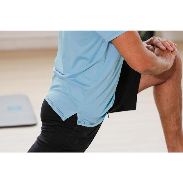 T Shirt regular imprimé Gym & Pilates homme - 1230702