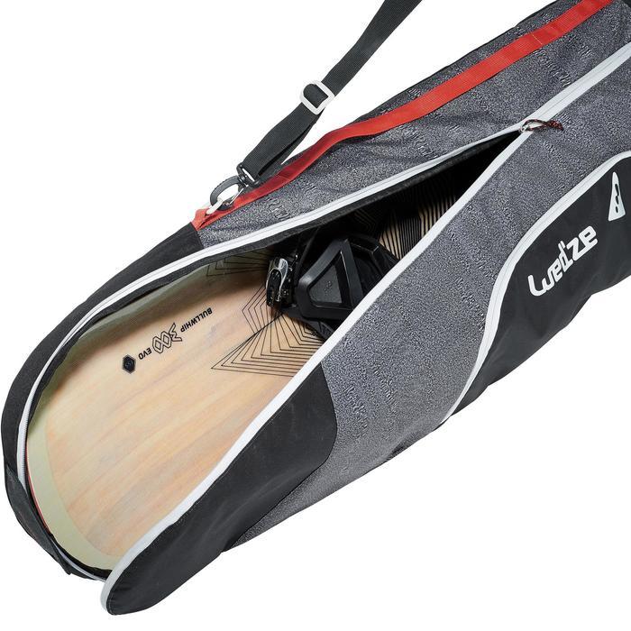 Snowboardtasche Comfort 500 grau
