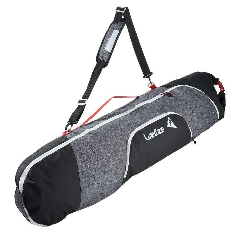 Funda de viaje para snowboard confort 500 gris