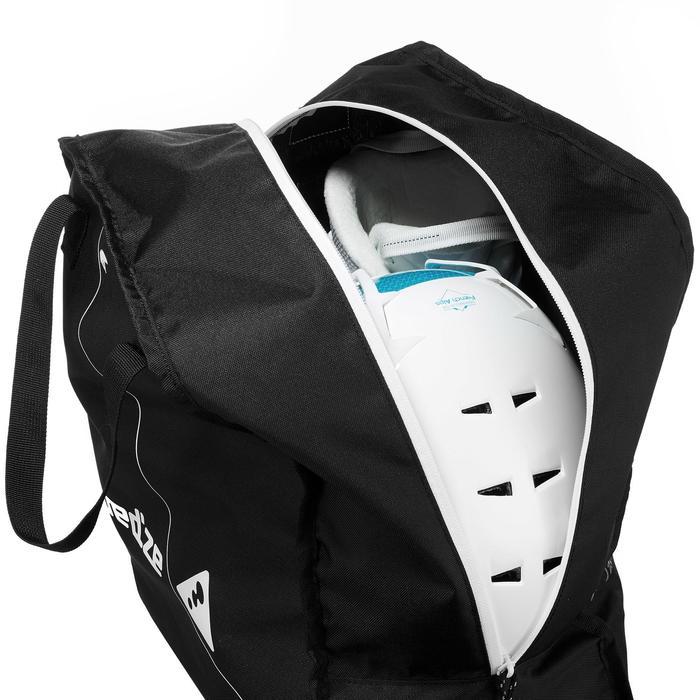 Tas voor skischoenen Coverboot 100 zwart