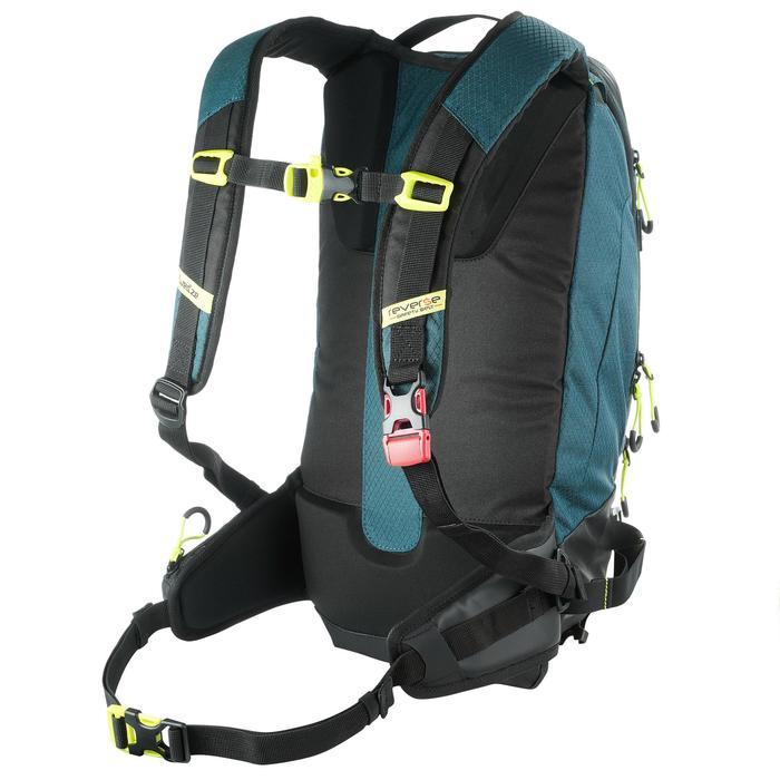 Sac à dos de ski de randonnée, RVS FR 500, pétrole - 1230813