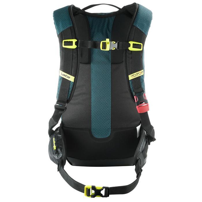 Sac à dos de ski de randonnée, RVS FR 500, pétrole - 1230815