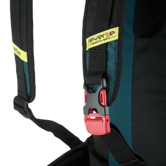 Sac à dos de ski de randonnée, RVS FR 500, pétrole - 1230816