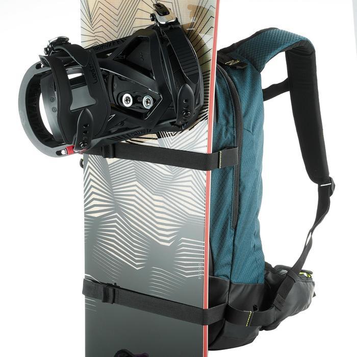 Sac à dos de ski de randonnée, RVS FR 500, pétrole - 1230817
