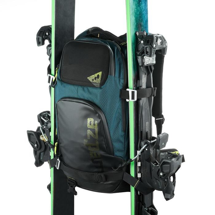 Sac à dos de ski de randonnée, RVS FR 500, pétrole - 1230818