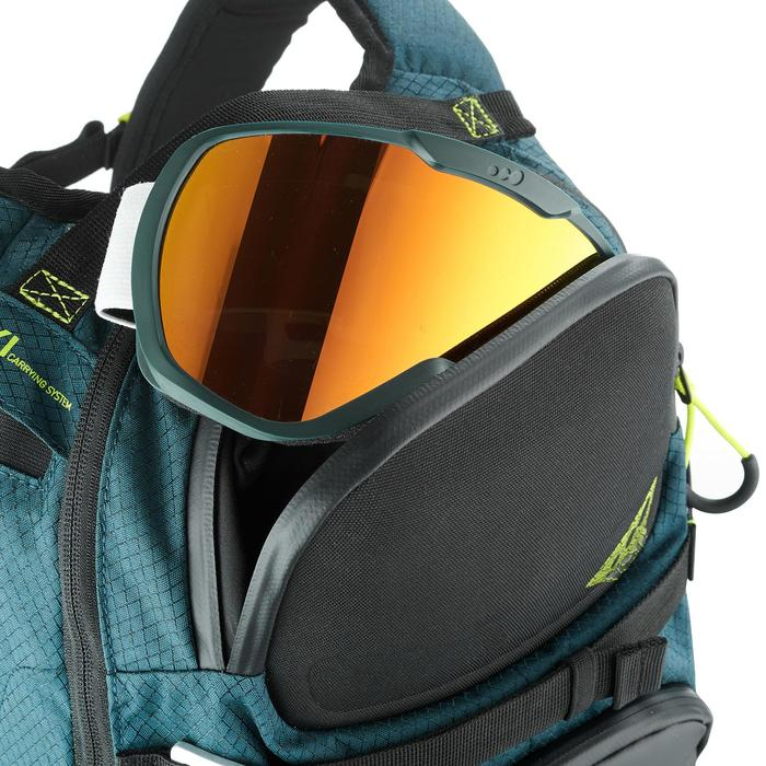 Sac à dos de ski de randonnée, RVS FR 500, pétrole - 1230820