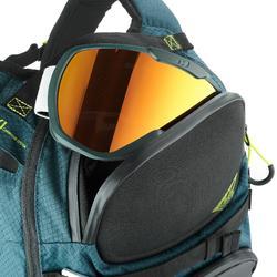 Sac à dos de ski de randonnée, RVS FR 500, pétrole