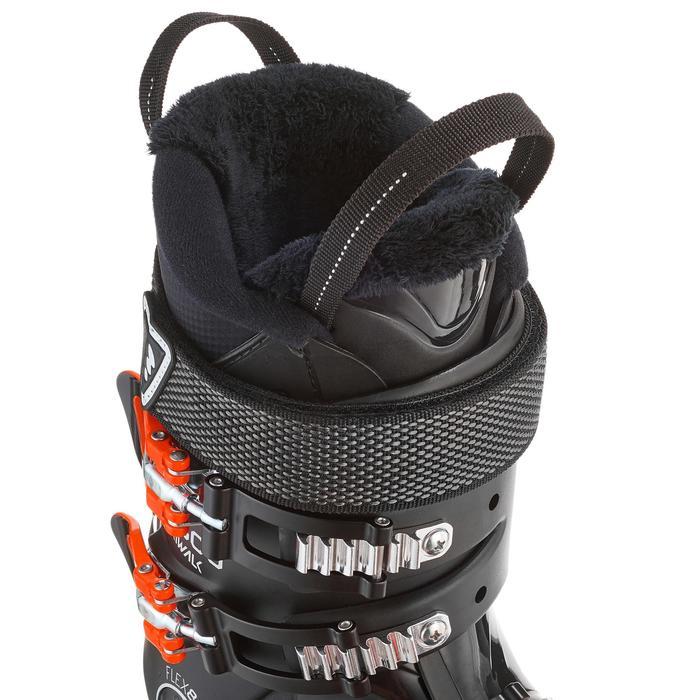 Skischoen voor heren pisteskiën Wid 500 zwart