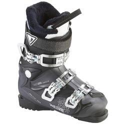 女款雪道滑雪靴Wid 300 - 黑色