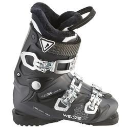 WID 300 WOMEN'S DOWNHILL SKIING BOOTS - BLACK