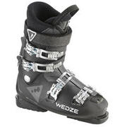 MEN'S DOWNHILL SKI BOOTS WID 300 BLACK
