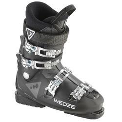 Heren skischoenen voor pisteskiën SKI-P BOOT WID 300 zwart