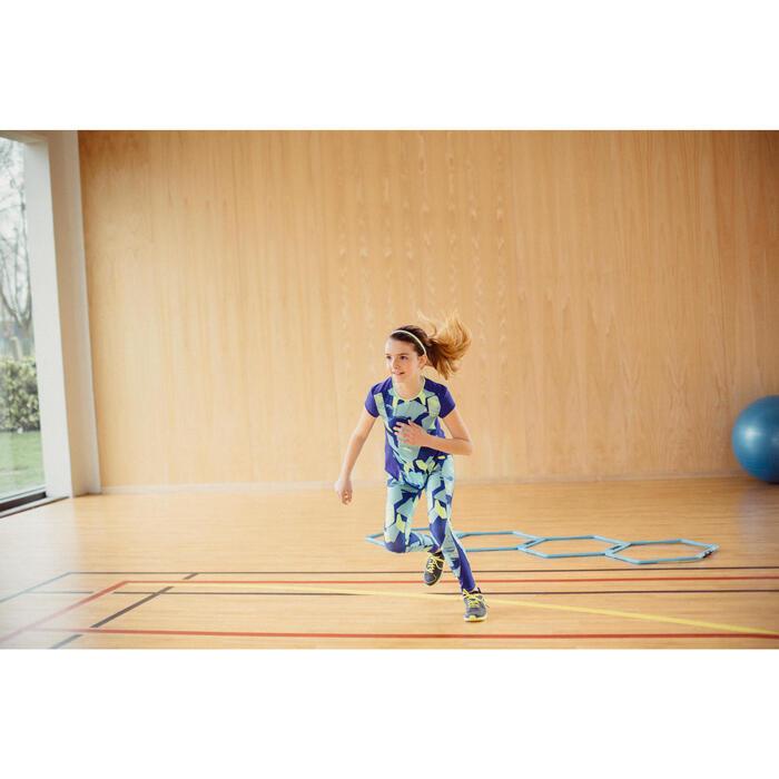 Set van 3 haarbanden 900 voor gym, voor meisjes, roze geel blauw
