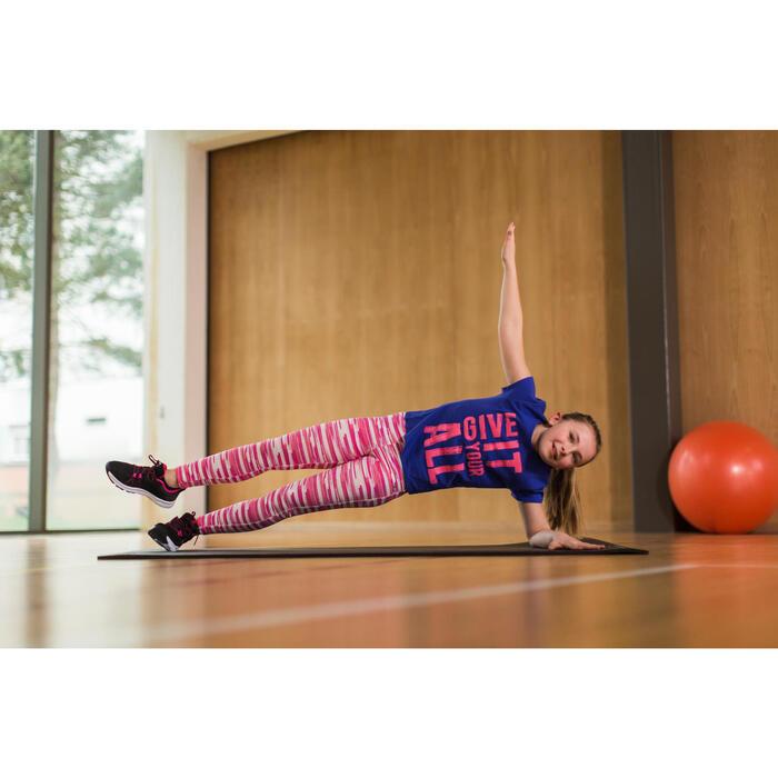 Legging imprimé Gym fille rose