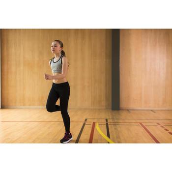 Gym kuitbroek voor meisjes, regular fit - 1230966
