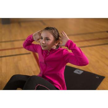 Trainingsjacke 100 Gym Kinder rosa