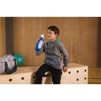 Sweat chaud capuche Gym garçon - 1230988
