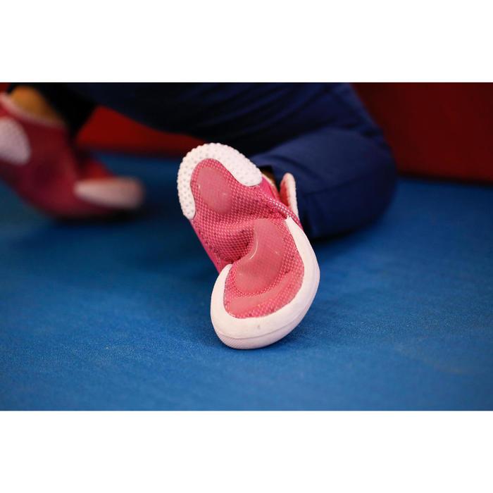 Gymschoentjes Babylight voor kleutergym roze/fuchsia