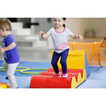 2er-Pack Leggings 100 Babyturnen blau mit Print