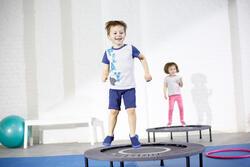 Short 100 gimnasia infantil azul marino