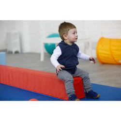 Pantalón Chándal Gimnasia Domyos 120 Bebé 12 Meses - 6 Años Gris Estampado