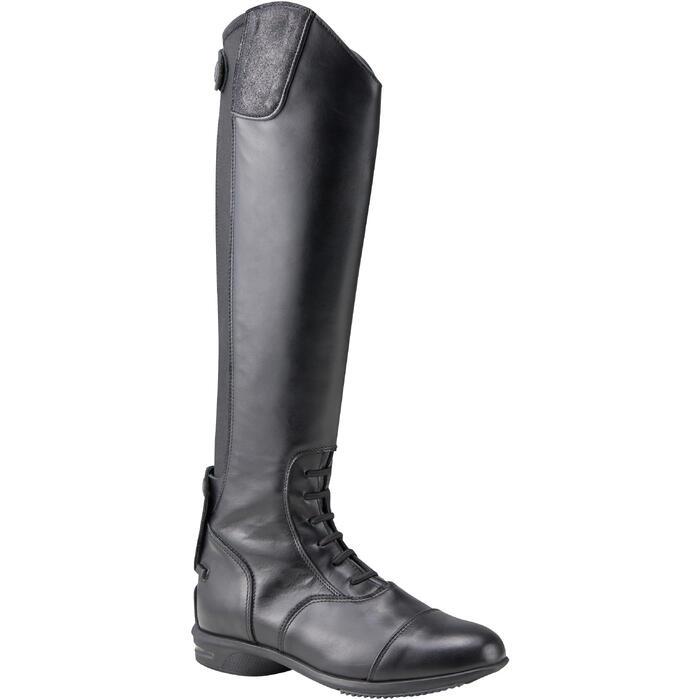 Bottes cuir équitation adulte LB 900 - 1231160