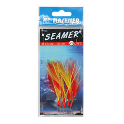 Bajo de línea Seamer 7 anzuelos N.° 1/0 pesca en el mar