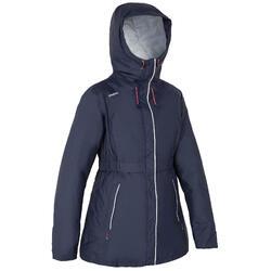 Warme zeiljas 100 voor dames marineblauw