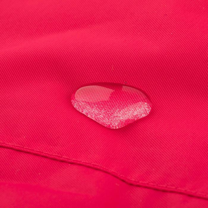 Chaqueta Cortaviento Impermeable Barco Vela Tribord 100 Mujer Rosa